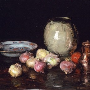 William Merritt Chase - Red Onion Marmalade