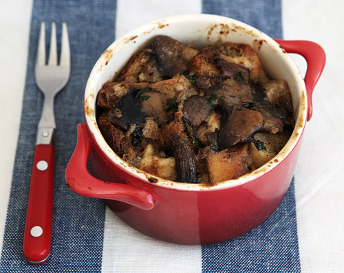 William Nicholson – Wild Mushroom Bread Pudding | Feasting on Art