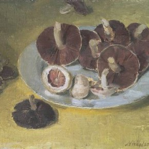 William Nicholson – Wild Mushroom Bread Pudding