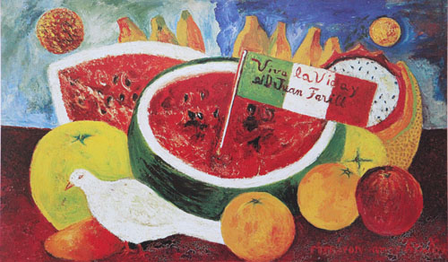 Frida Kahlo     Shellfish CevicheFrida Kahlo Famous Paintings Still Life
