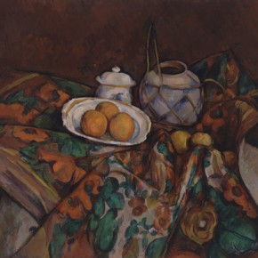 Paul Cézanne - Chocolate Ginger Cake with Simmered Oranges