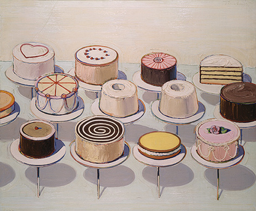 Cake Artist Bakery Champaign Il : Off-Ramp  Video: Pop-art icon Wayne Thiebaud,  the old ...