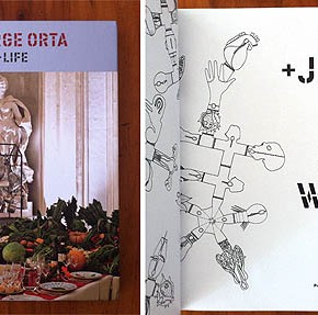 Book Review - Lucy + Jorge Orta 'Food Water Life'