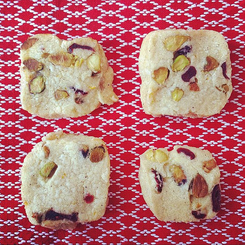 Albert Anker – Pistachio Cranberry Icebox Cookies | Feasting on Art