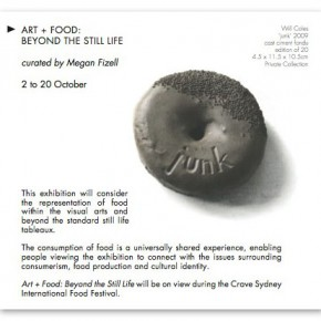 Now Accepting Proposals for 'Art + Food: Beyond the Still Life'