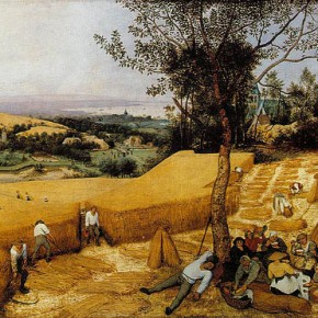 Pieter Bruegel & William Carlos Williams - Grilled Corncobs with Parmesan, Lime & Paprika