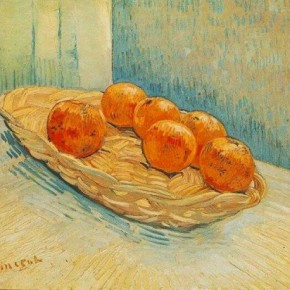 Vincent van Gogh - Orange Honey Madeleines
